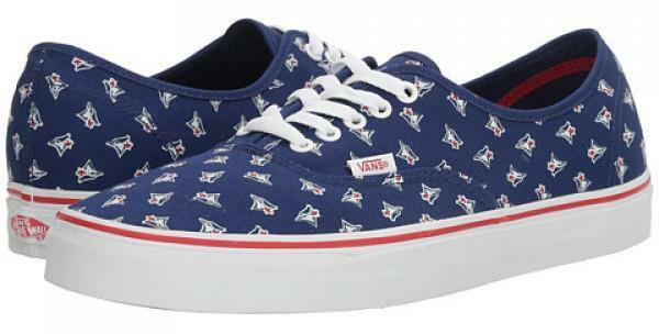 8d917a81c7 VANS Toronto Blue Jays MLB Authentic Sneaker Limited Edition Shoes Navy Blue  9.5