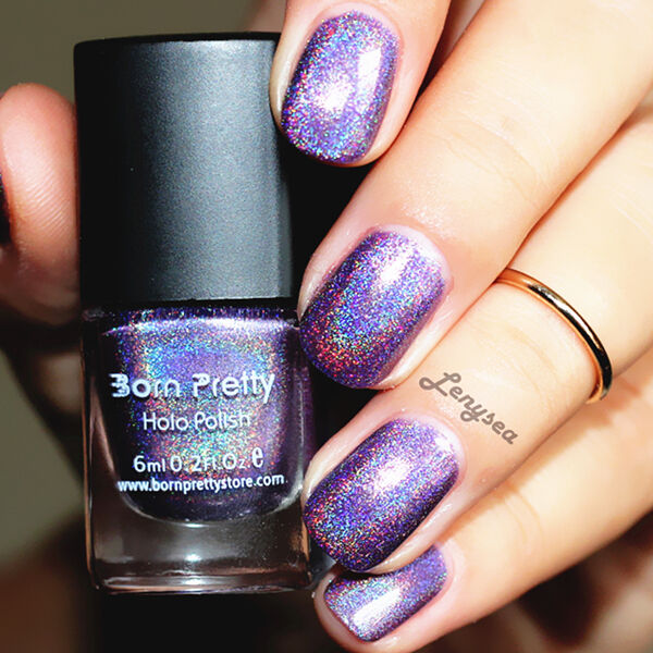 Nail Polish Holographic Varnish Hologram Holo Glitter 6ml Born ...