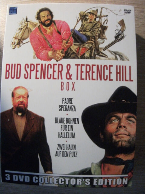 Bud Spencer & Terence Hill - 3 DVD Collector`s Edition
