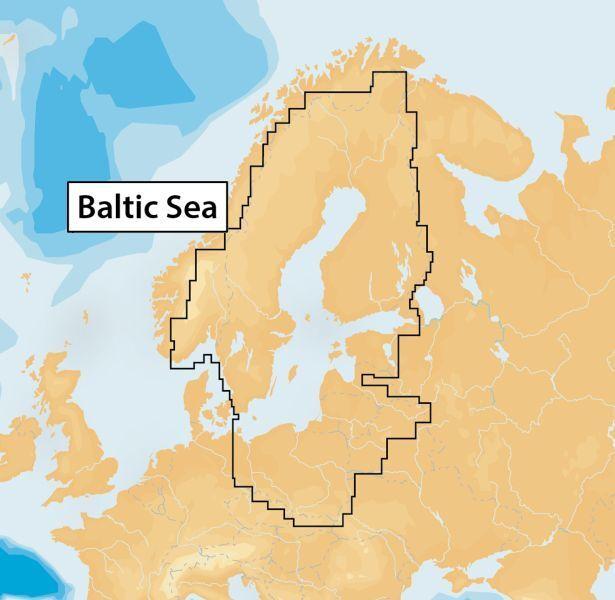 Navionics+ - 44XG Baltic Sea, µSD-Karte