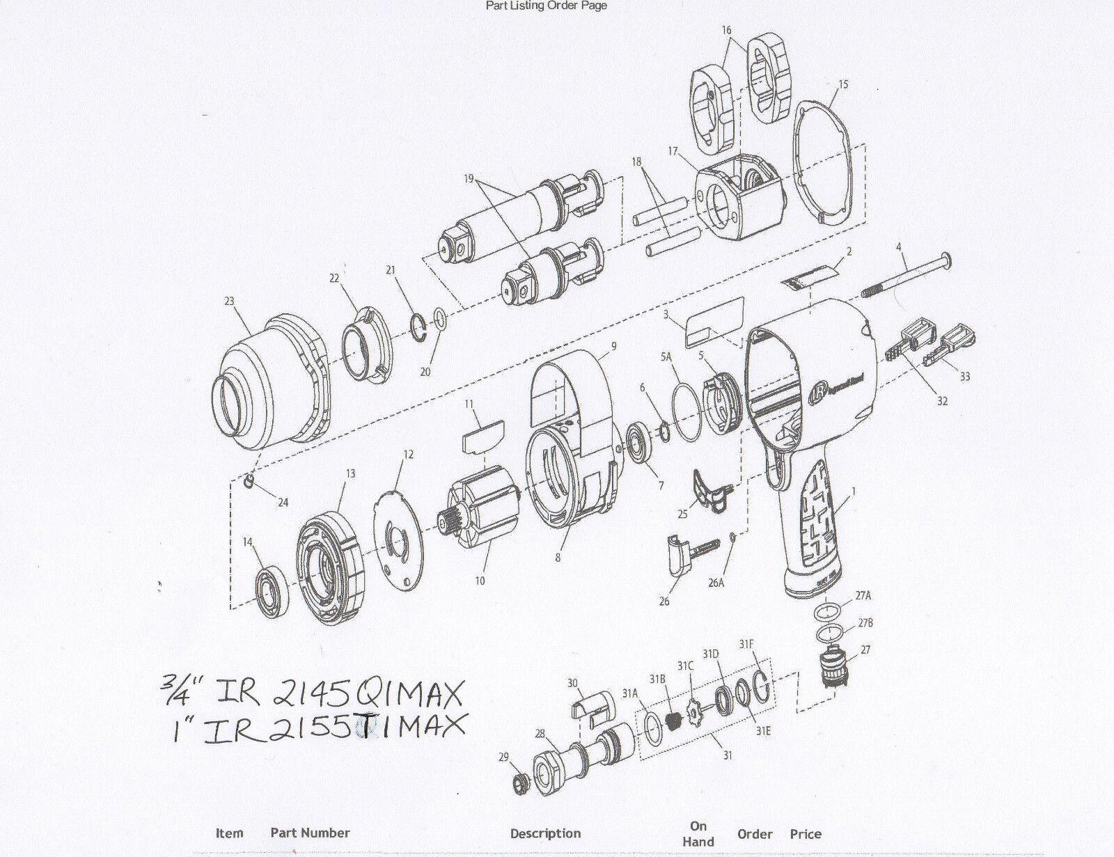 Ingersoll Rand 2141 Parts Breakdown T30 Wiring Diagram Library U Vanesa Co Ir Impact