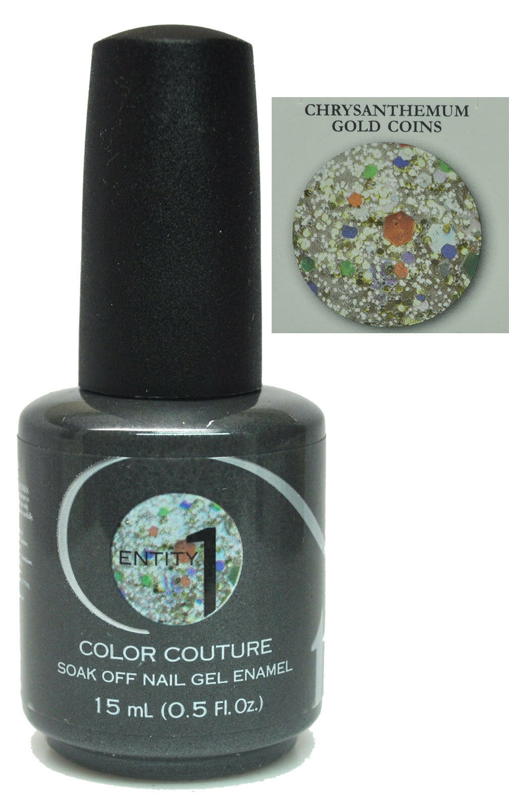 Entity 1 One Color Couture Soak off GEL Polish Chrysanthemum Gold ...