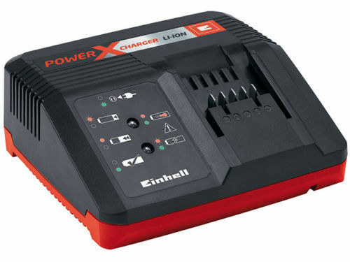 Einhell Power X-Charger System Fast Charger 18V Lithium Battery Charger 18 Volt