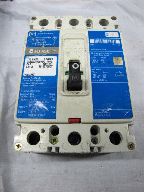 Comfortable 5 Way Selector Switch Wiring Huge Bulldog Remote Start Manual Rectangular Volume Pot Wiring Super Switch Wiring Young Solar Panel Setup Diagram PurpleSolar Cell Connection Diagram Cutler Hammer 175 Amp Circuit Breaker ED3175 3 Pole 240 VAC Ed65k ..