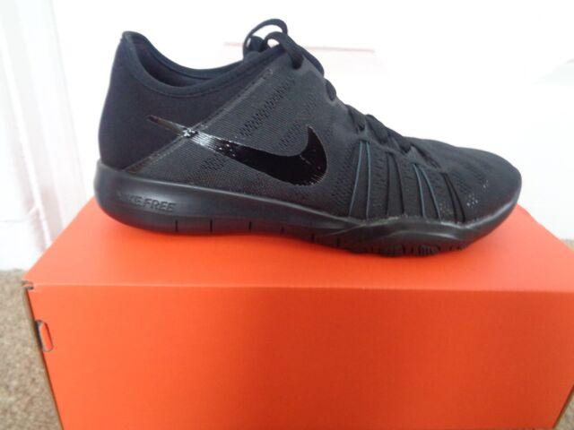 Nike Free 5.0 Bianco e Blu Scarpe Da Ginnastica EU 38.5 UK 5 US 7.5