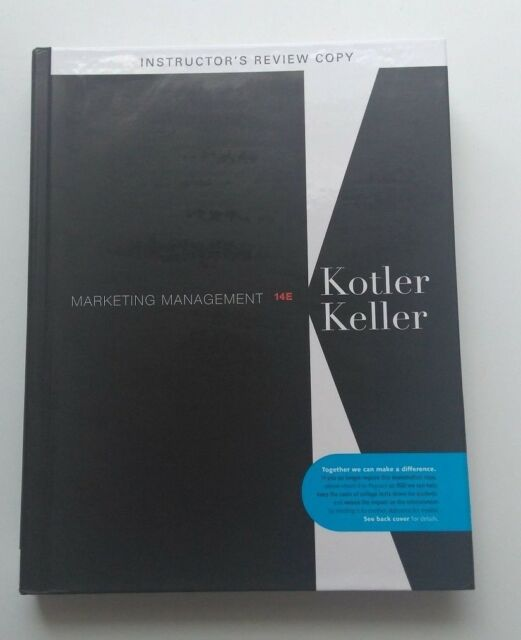 Marketing management by kevin lane keller and philip kotler 2011 marketing management by kevin lane keller and philip kotler 2011 hardcover revised ebay fandeluxe Choice Image