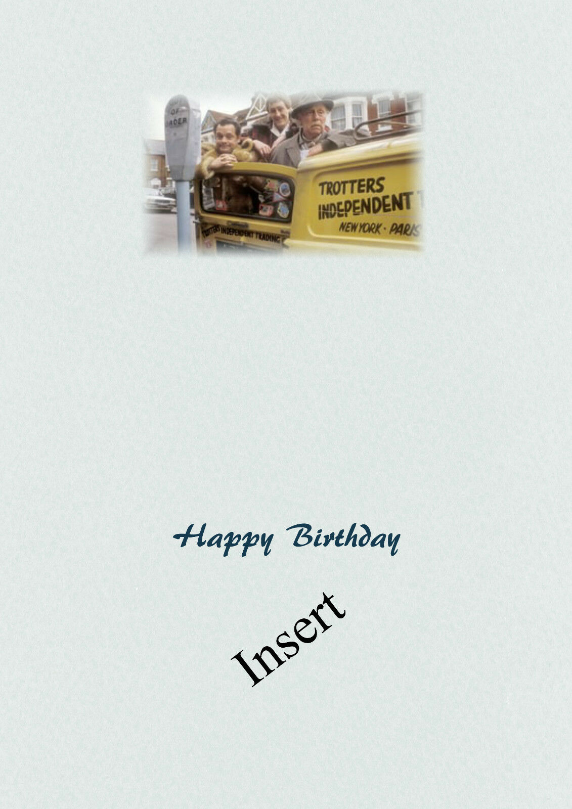 Personalised Birthday Card Only Fools and Horses Son Grandson ...