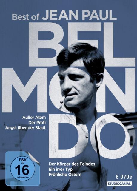 6 DVDs * BELMONDO - BEST OF JEAN-PAUL BELMONDO. # NEU OVP /