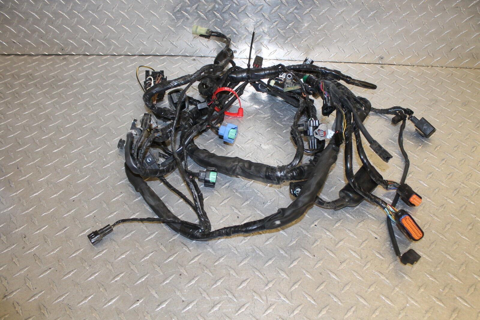 2009 kawasaki er 6n er650c main engine wiring harness motor wire rh ebay com Honda CRF 650 Kawasaki Kawasaki ER-6f 2011