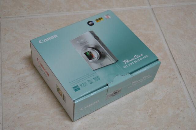 Brand New BLACK Canon PowerShot ELPH 520 HS 10.1MP 12x Zoom Digital Camera $399