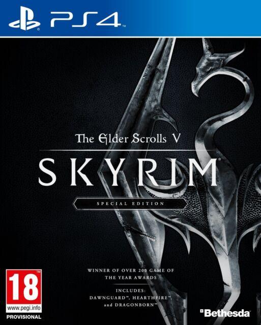 The Elder Scrolls V Skyrim Special Edition PS4 UNCUT PlayStation 4 NEU OVP
