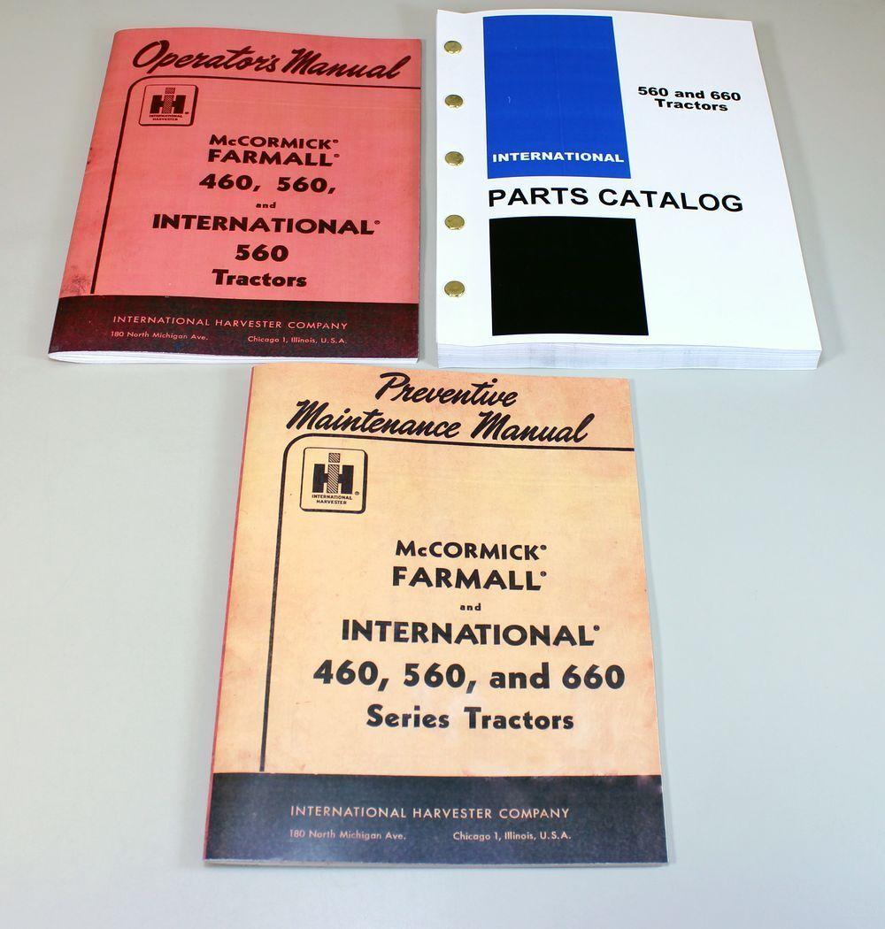 560 Tractor Parts International Farmall Wiring Diagram Set Operator Preventive 1000x1050
