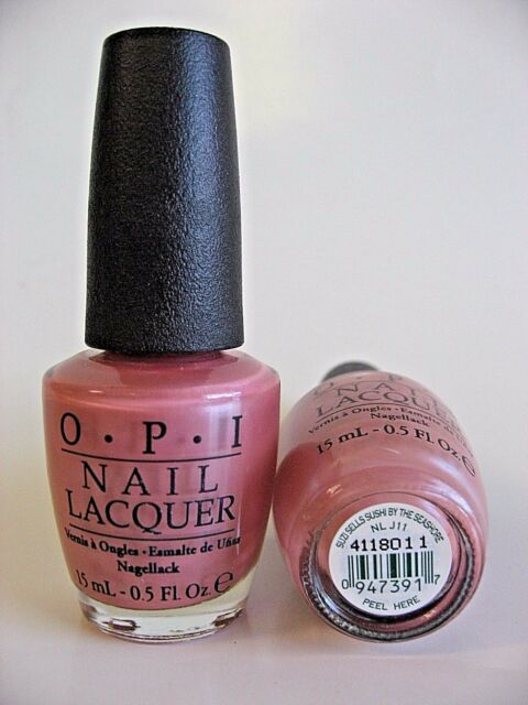 OPI Nail Lacquer Polish Suzi Sells Sushi by The Seashore Japanese ...