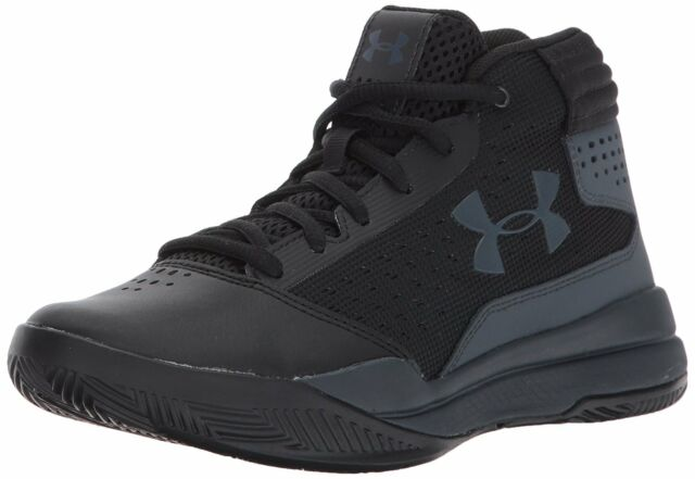 under armour shoes for kids black