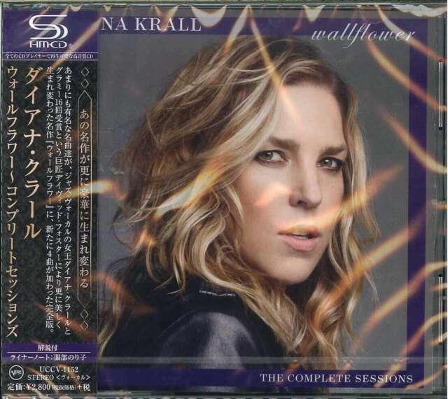 DIANA KRALL-WALLFLOWER - DELUXE EDITION-JAPAN SHM-CD G35