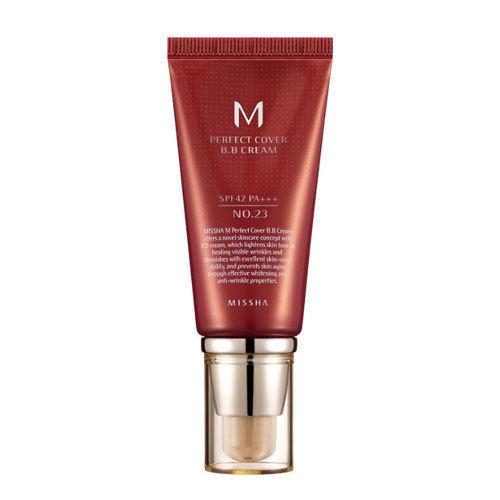 MISSHA M Perfect Cover BB Cream No.13/ 21/ 23/ 27/ 31 SPF42 PA+++ 50ml & Sample