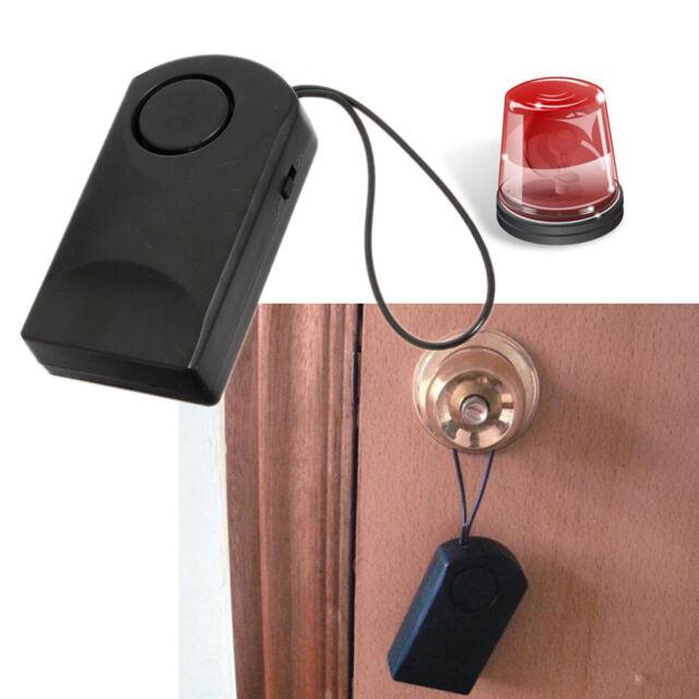 120db Wireless Touch Sensor Security Alarm Loud Door Knob Entry Anti ...
