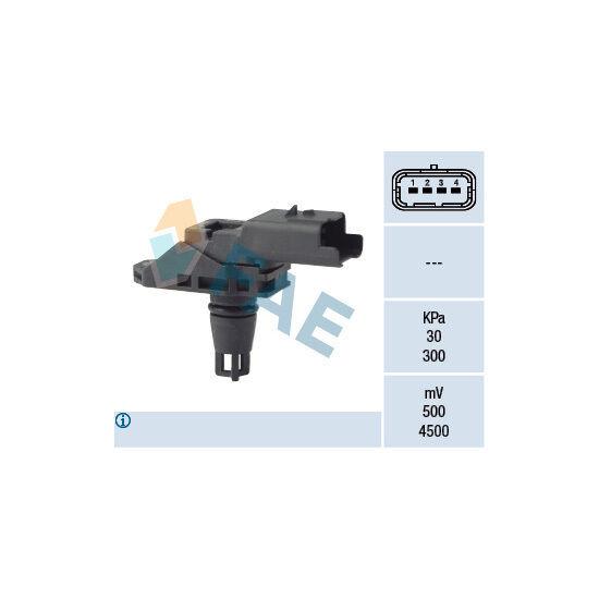 Sensor, Saugrohrdruck FAE 15132
