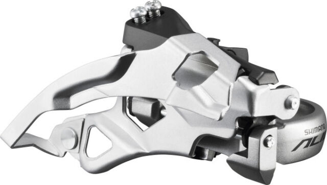 Shimano ALIVIO FD-T4000 Umwerfer 3x9-fach 34,9 mm 31,8/28,6 mm TOP SWING 63-66°