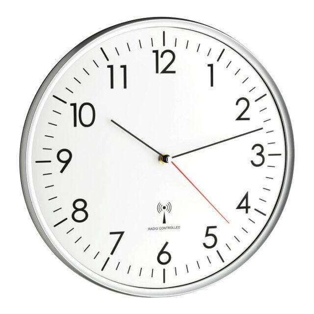 Horloge murale radio-pilotée Basel TFA 60.3514 analoge-funkuhr montre radio