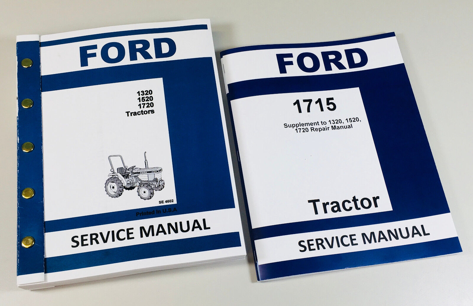 ford 1715 tractor service repair shop manual complete factory rh ebay com ford 1715 tractor repair manual ford tractor 1710 manual free
