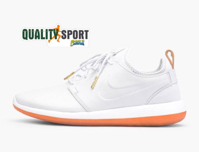 Nike Roshe Two Leather Ghiaccio Scarpe Shoes Uomo Sportive Sneakers 881987 100