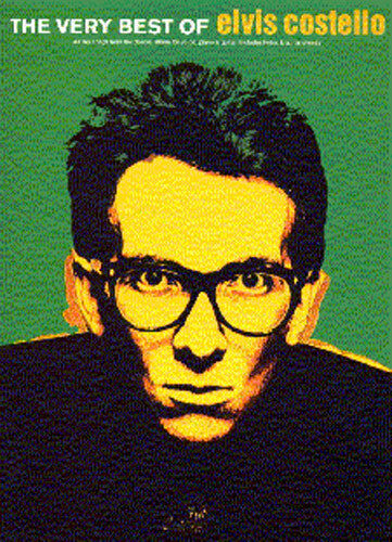 Very Best Of Elvis Costello Learn to Play Pop PIANO Guitar PVG Music Book