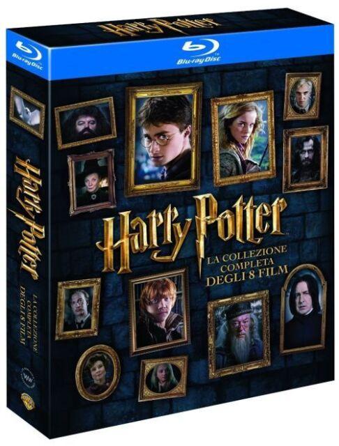Harry Potter Komplettbox 1-7.2 Box 1+2+3+4+5+6+7.1+7.2 Blu Ray NEU OVP