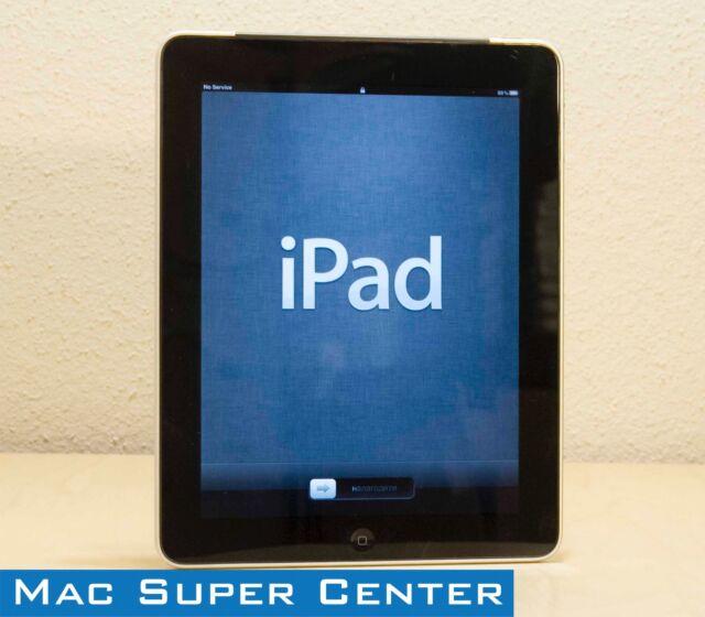 Apple iPad 1st Generation - WiFi + Cellular | Black | 16GB | Refurbished