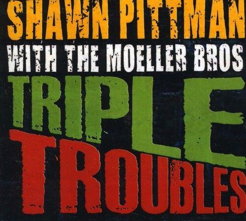 Shawn Pittman - Triple Troubles [New CD] Professionally Duplicated CD