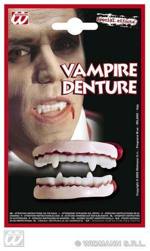 Premium Vampire Teeth Dracula Halloween Fancy Dress
