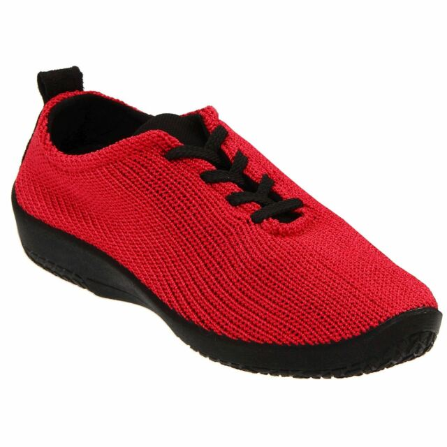 Arcopedico Womens LS 1151 Red Fabric Shoes 39 EU PWQVaI