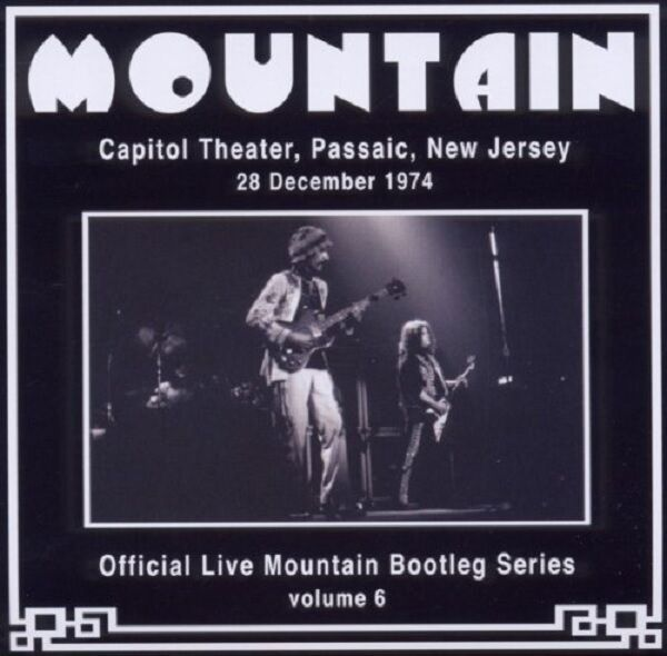 Mountain Live Capitol Theater, Passaic, New Jersey 1974 CD NEW SEALED Volume 6