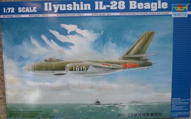 Trumpeter 1/72 TR01604 Illyushin Il-28 'Beagle'