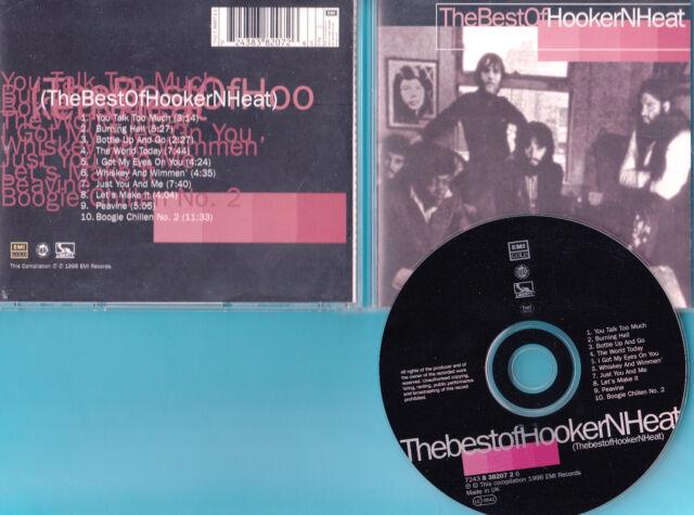 Canned Heat & John Lee Hooker - CD - The Best Of - CD von 1996 - Neuwertig !