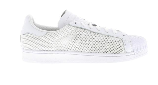 mens adidas superstar triplo white formatori bb0993 uk 10 / 44 euro 2