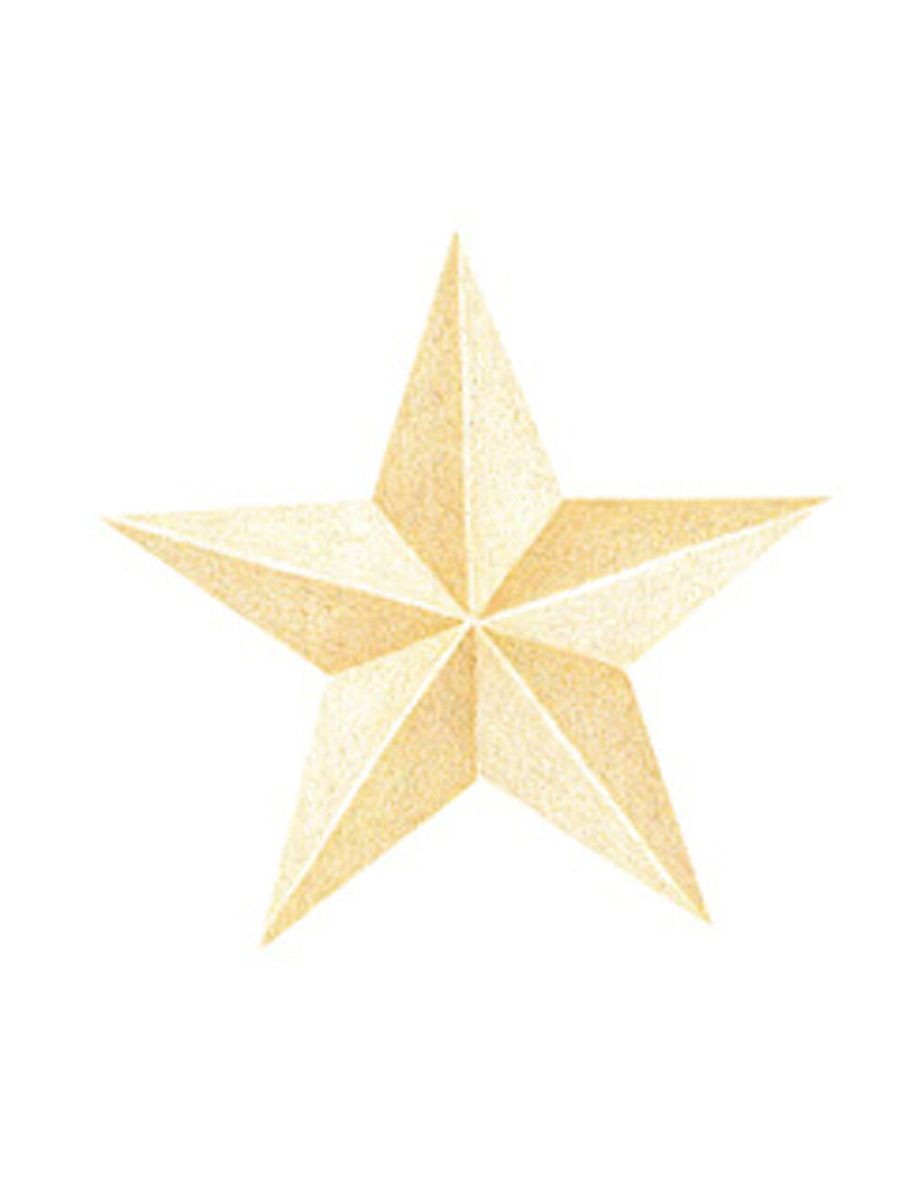 Celestial Night Sky Golden Star 25 Stars Wallies Wallpaper Cutout ...