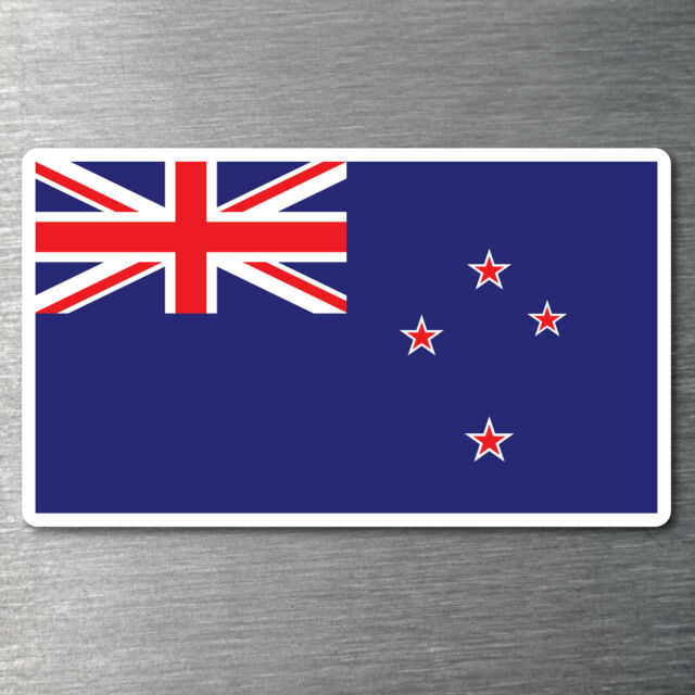 New zealand flag sticker quality 7 year water fade proof vinyl car laptop
