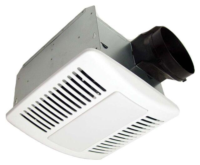 Kaze Appliance Se110tl Modern Ultra Quiet Bathroom Exhaust Ventilation Fan Cfl Ebay