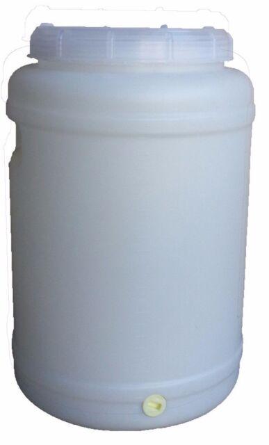 30 LT Water Storage Container Plastic Fermenter Drum Barrel Tank