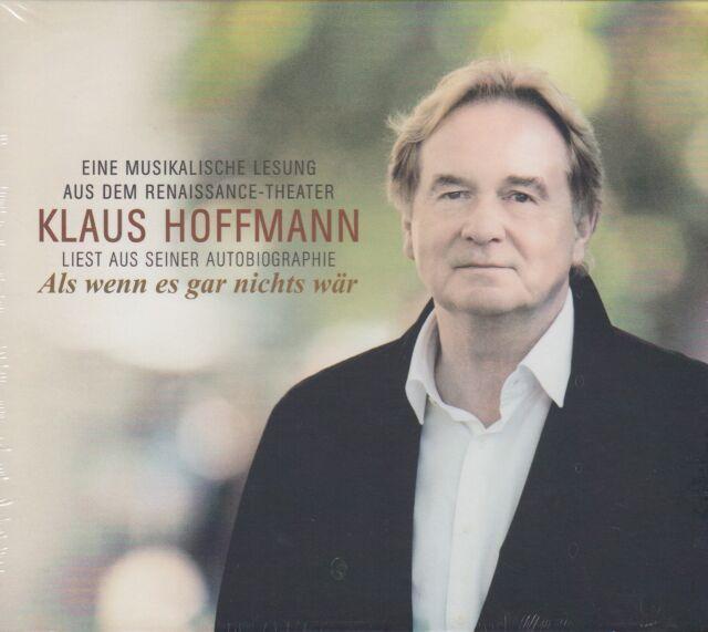 Als Wenn Es Gar Nichts Wär- Klaus Hoffmann Liest aus seiner Biografie (2CDs,NEU)