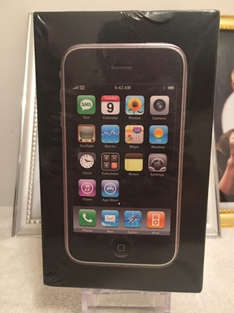 Brand New Apple iPhone 3G - 8GB - Black (AT&T) Factory Unlocked. Never Used