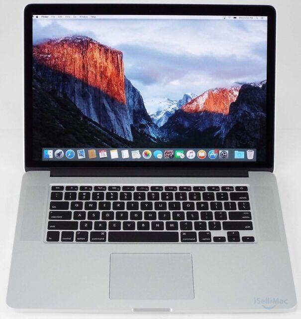 """Apple 2015 MacBook Pro Retina 15"""" 2.2GHz I7 256GB SSD 16GB MJLQ2LL/A + A Grade"""