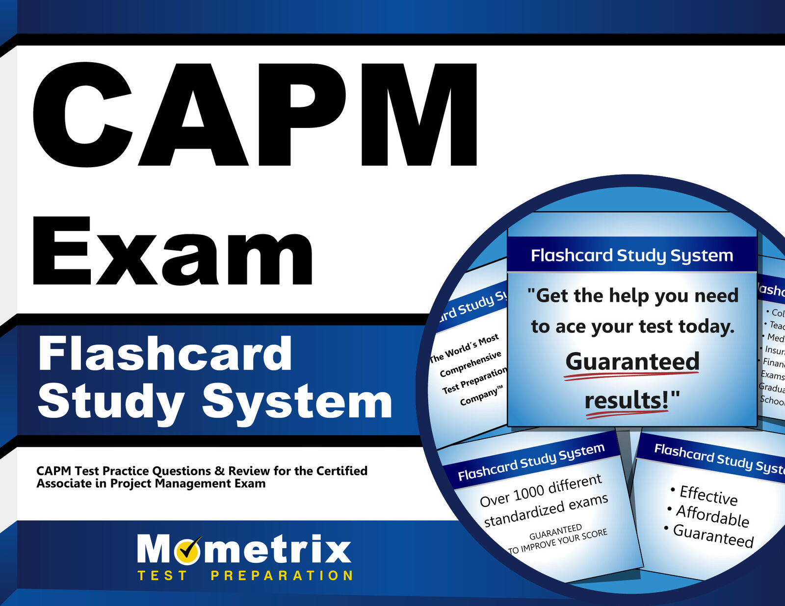 Capm Exam Flashcard Study System Capm Test Practice Questions And