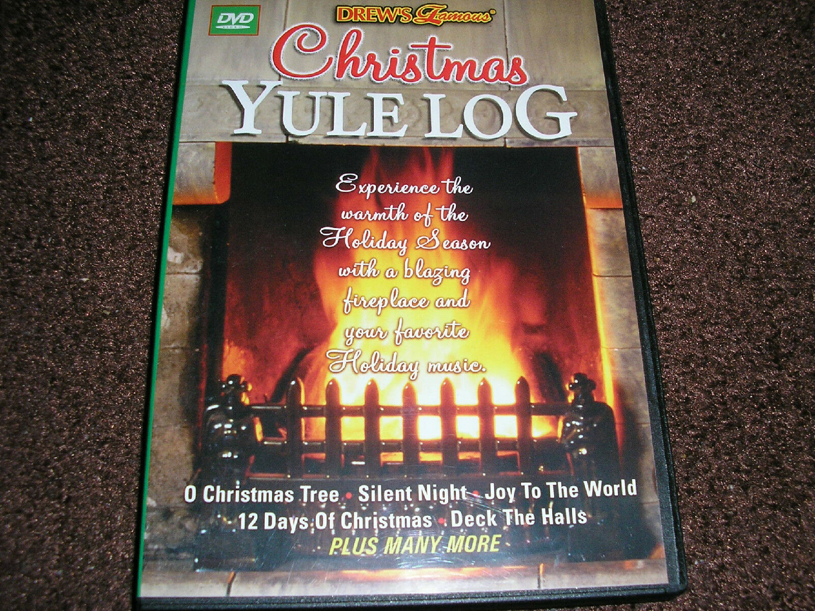 christmas yule log dvd ebay