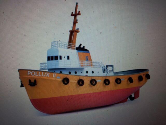 Graupner POLLUX 2 RTR RC Elektroboot Graupner 21011.RTR