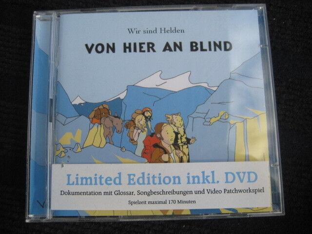 CD+DVD  Wir sind Helden  Von hier an blind (Limited Edition)   Topzustand