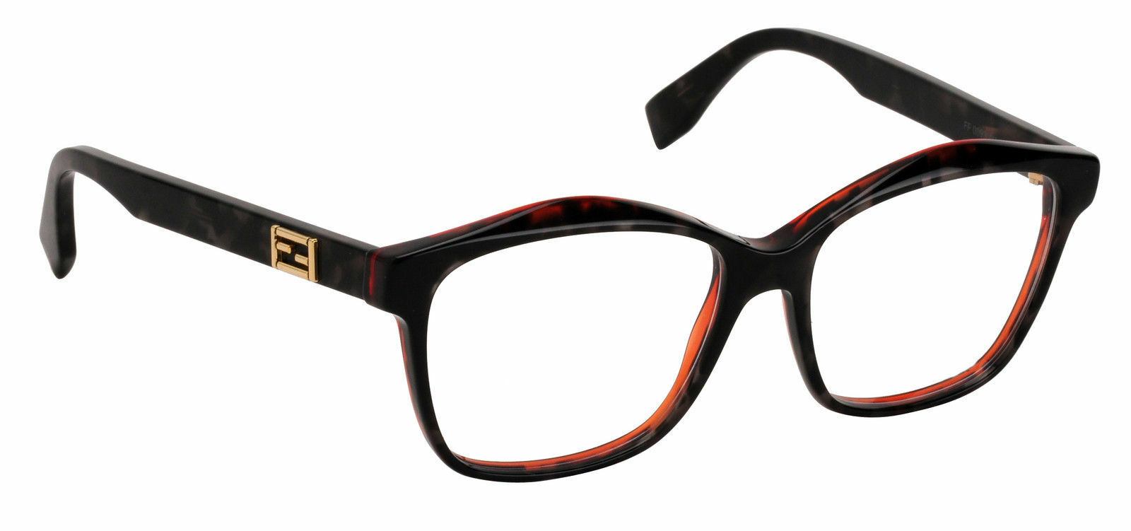 Fendi Eyeglasses FF 0093 D5t Frame Authentic 54mm Gray Spotted ...