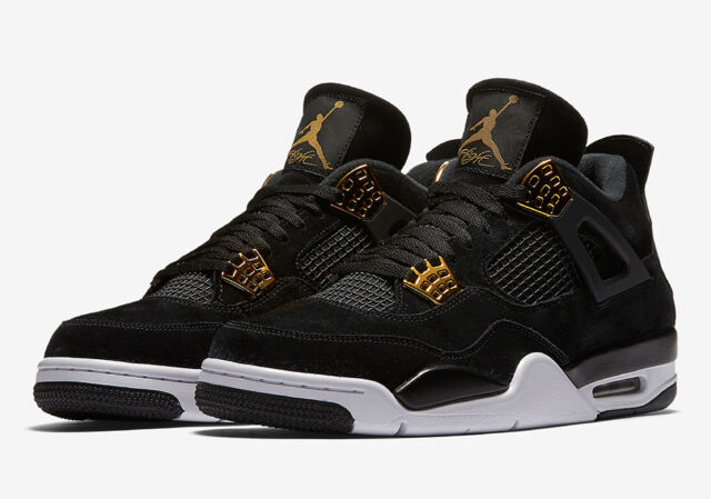 Jordan 7 Black And Gold Nike Air Jordan 4 IV R...