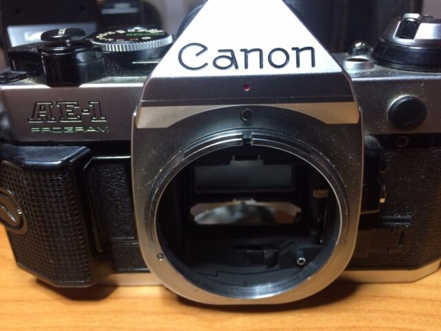Canon AE-1 35mm Spiegelreflexkamera nur Gehäuse